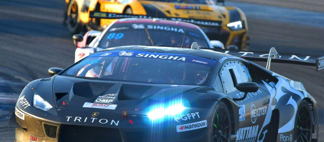 ชนม์สวัสดิ์ และพิษณุ ควบแลมโบกีนีคว้าแชมป์รุ่นใหญ่ GT3 ไทยแลนด์ซุปเปอร์ซีรีย์ สนาม3 บุรีรัมย์